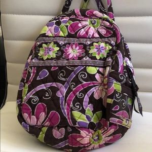 Vera Bradley Lunch Bunch Bag Brown
